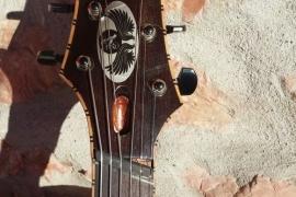 Chitarra Archtop con tastiera Fanned