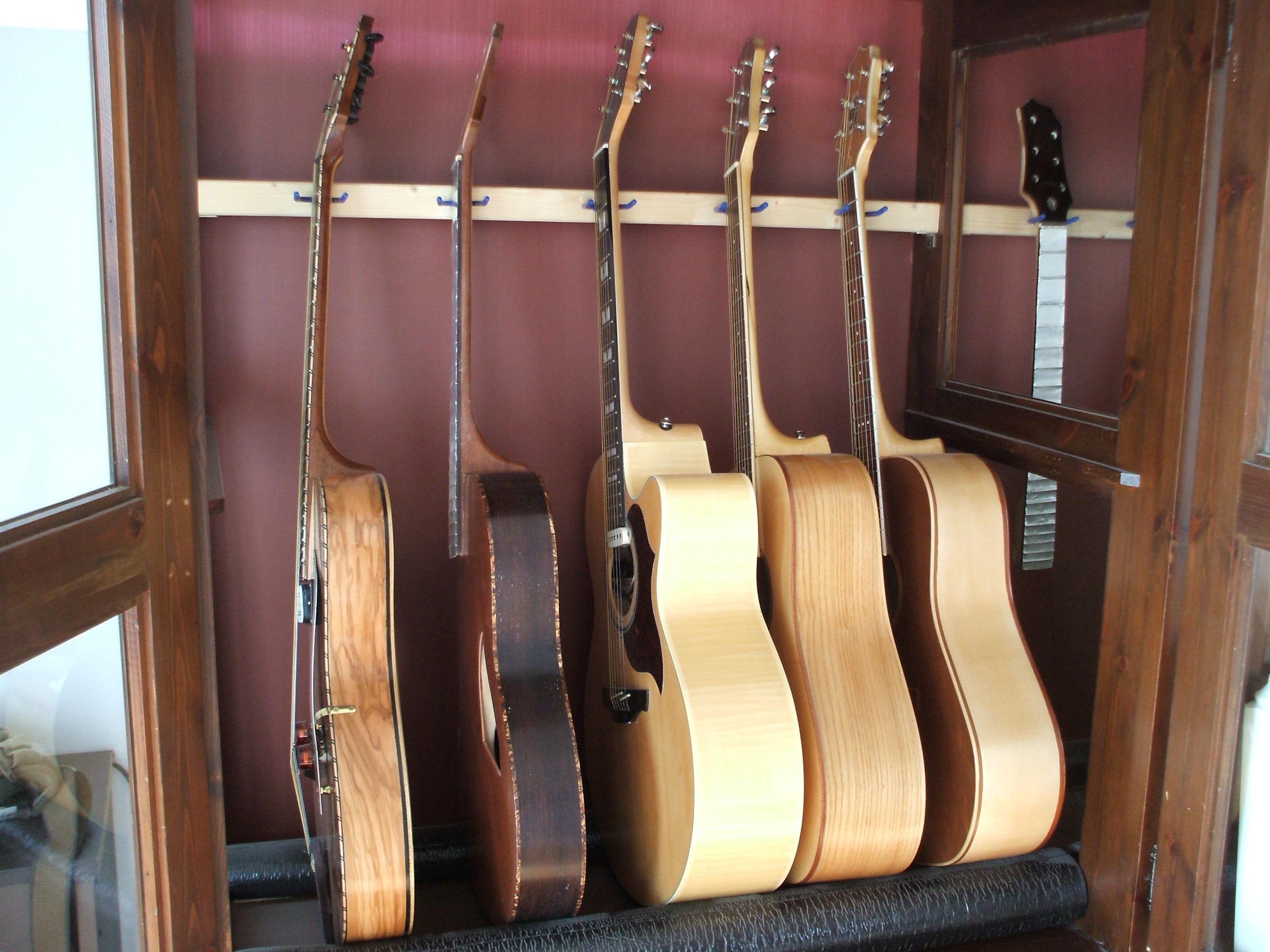 Le chitarre di campionatura