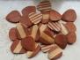 Plettri in legno fatti a mano