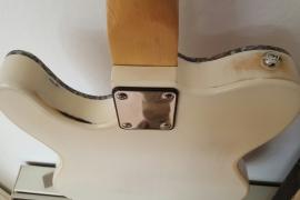 Telecaster relic con top in padouk
